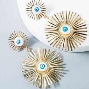 Buy 2, Get 1 Free! Geometric Eye Earrings